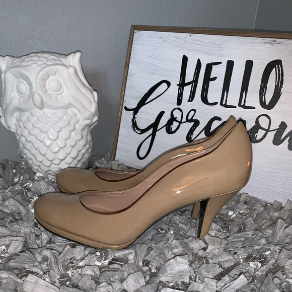 788e530395 Tahari Shoes | Nude 85 M Pump Heel Colette From Nordstrom | Poshmark